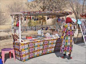 Artisanat et tourisme (Khiva, Ouzbékistan)