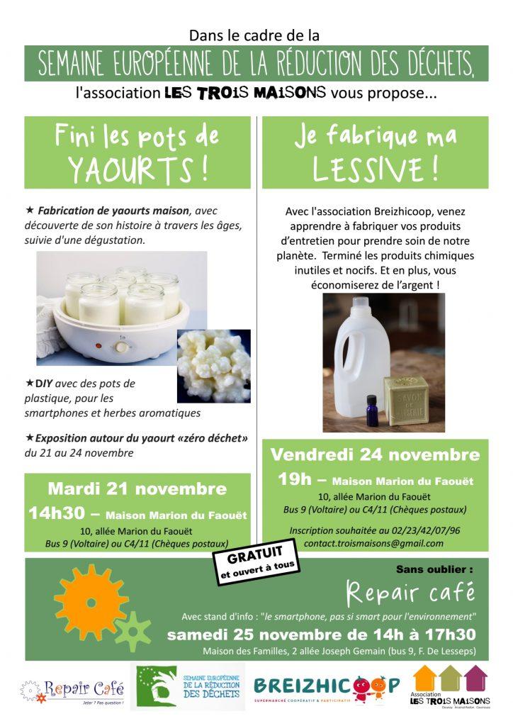 Fabrication de yaourts et de lessive