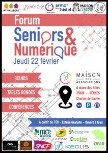 Seniors et numérique, forum organisé par l'OPAR Rennes, le 22 février 2018