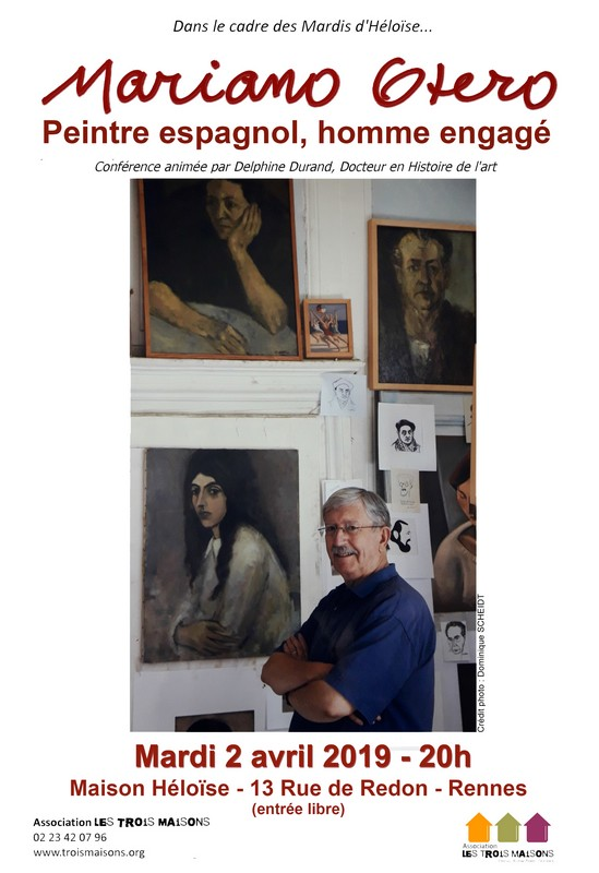 conférence sur Mariano Otero à l'association Les Trois Maisons à Rennes
